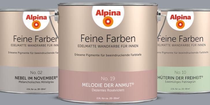 Alpina Feine Farben Gewinnspiel