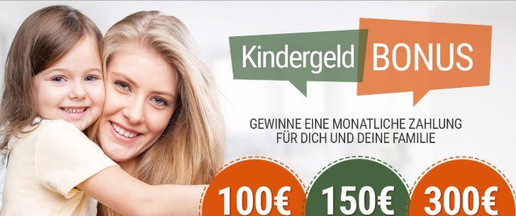Kindergeld Gewinnspiel