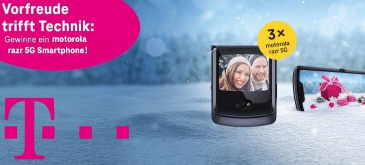 Telekom Motorola Gewinnspiel