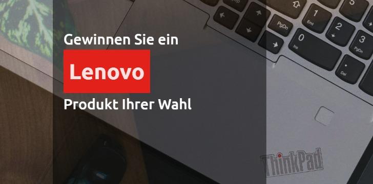 Lenovo Produkte Gewinnspiel
