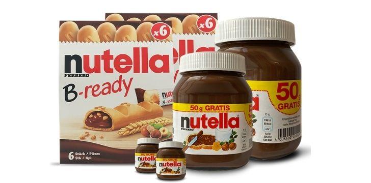 Nutella Probierpaket Gewinnspiel
