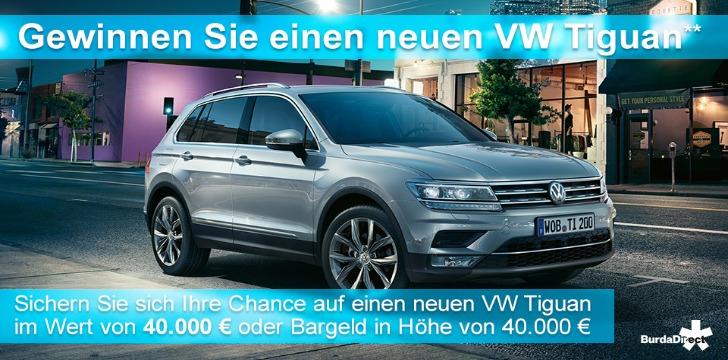 VW Tiguan Gewinnspiel