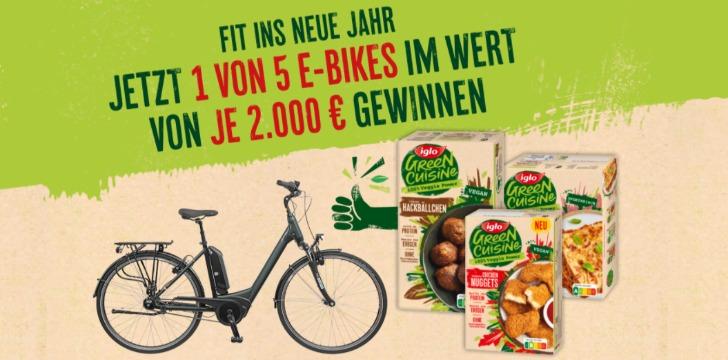 Iglo E-Bike Gewinnspiel