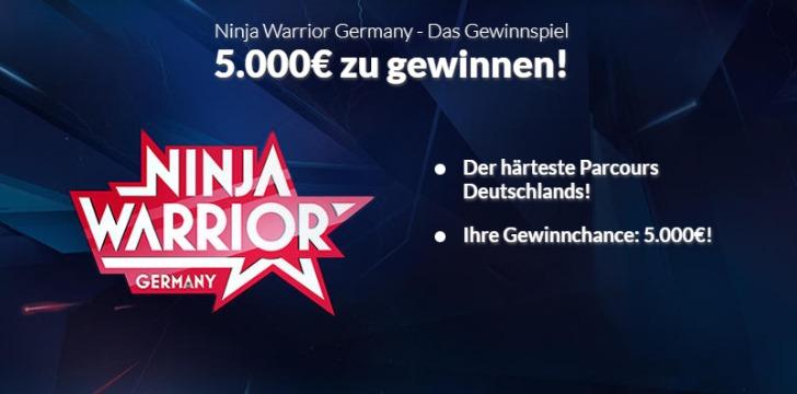 Ninja Warrior Winario Gewinnspiele