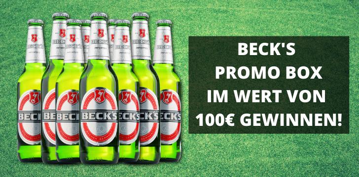 BECK'S PROMO BOX IM WERT VON 100€ GEWINNEN!