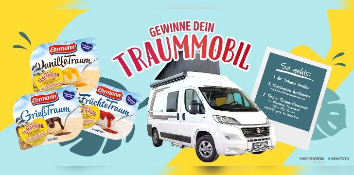 Ehrmann Wohnmobil Gewinnspiel