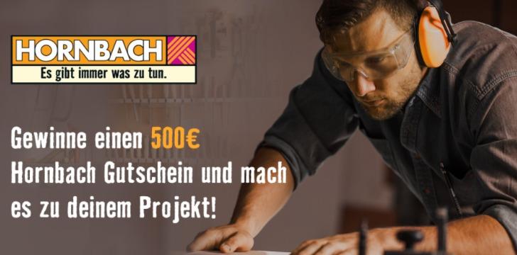 Hornbach Gutschein gewinnen