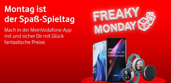 Vodafone Freaky Monday Gewinnspiel