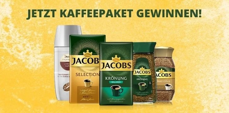 Jacobs Kaffee Gewinnspiel