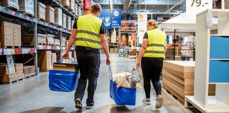 Ikea Taschen fuellen