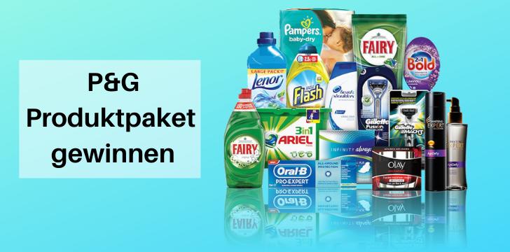 P&G Produktpaket gewinnen
