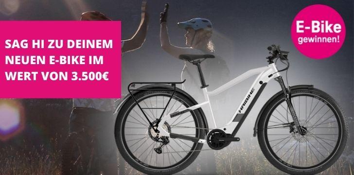 Telekom E-Bike Gewinnspiel gratis