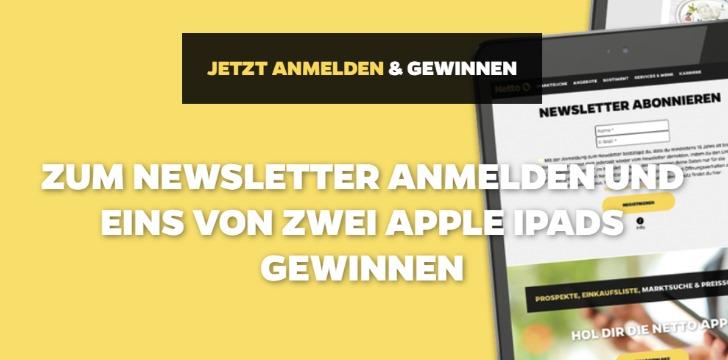 Netto iPad Gewinnspiel