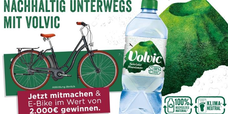 Volvic E-Bike Gewinnspiel