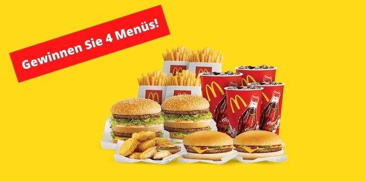 McDonalds Menues gewinnen