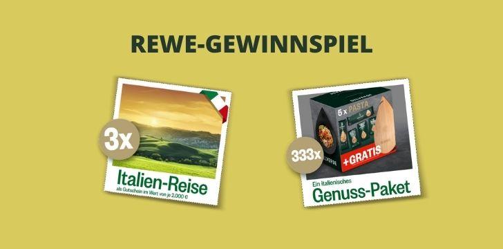 REWE-Gewinnspiel