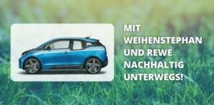BMW Elektroauto Rewe