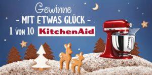Dr Oetker KitchenAid Gewinnspiel