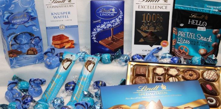 Lindt Schokolade gewinnen