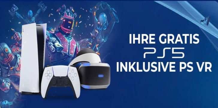 PS5 und VR-Brille Verlosung
