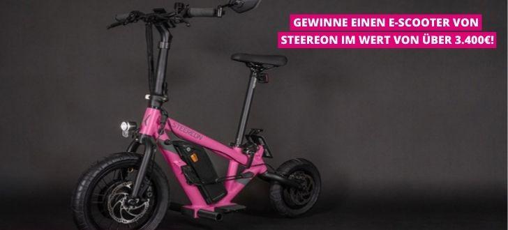 Telekom E-Scooter Verlosung