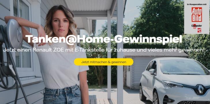 Vattenfall Renault Gewinnspiel