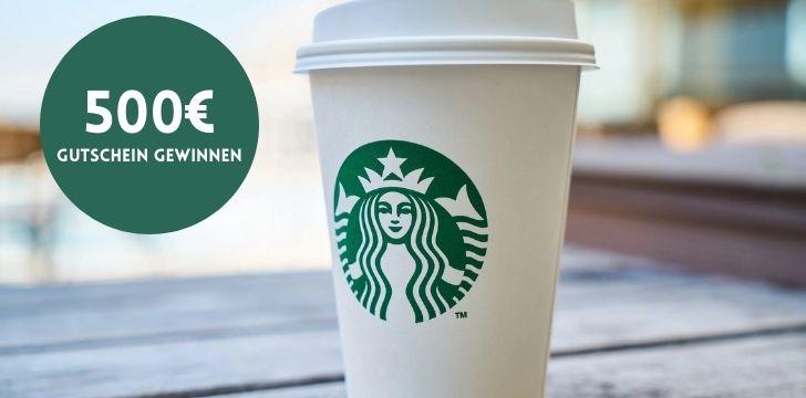 Starbucks Gutschein gewinnen